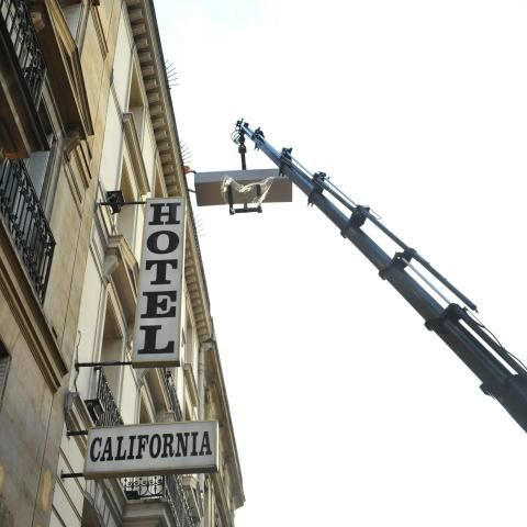 Hotel Les Bulles de Paris, near Sorbonne, is separated of its old elevator
