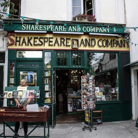 A literary adventure courtesy of Shakespeare & Co